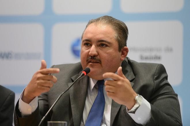 """André Longo, presidente da ANS: agência defende que há um """"entendimento equivocado"""" a respeito de norma   Fabio Rodrigues Pozzebom/Agência Brasil"""