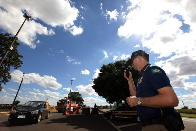 Posto de Santa Terezinha de Itaipu não tem local para presos provisórios e nem carros apreendidos | Daniel Castellano/ Gazeta do Povo