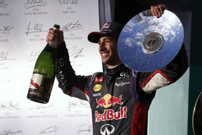 Ricciardo chegou na segunda posição, mas foi desclassificado | REUTERS/David Gray