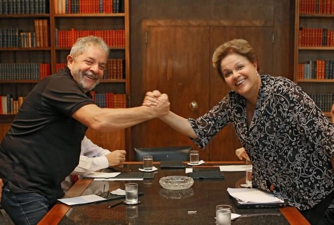 Lula e Dilma: foto de encontro de quarta-Feira mostra que os dois estão juntos, aconteça o que acontecer | Ricardo Stuckert/ Instituto Lula