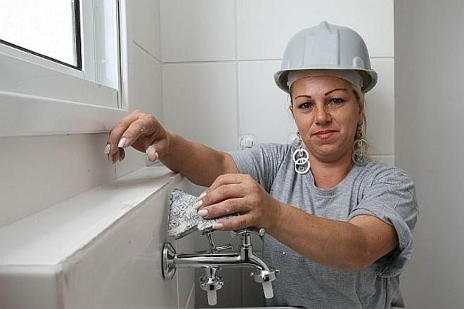 Silmara Aparecida Arruda, 40 anos, pedreira | Aniele Nascimento / Gazeta do Povo