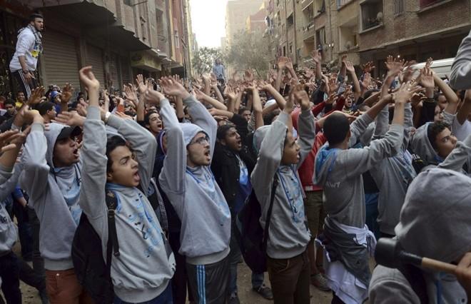 | Al Youm Al Saabi Newspaper/Reuters