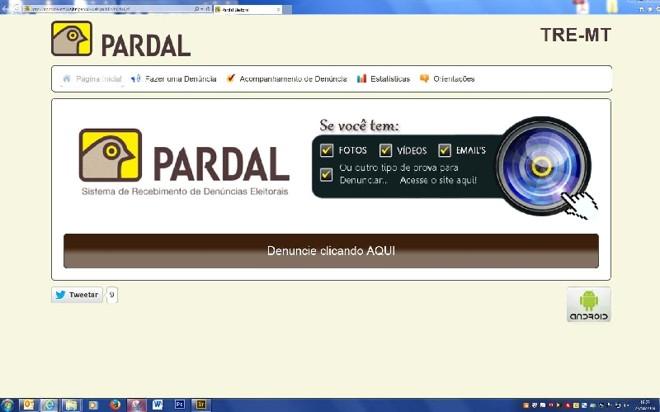 O Pardal já funciona no Espírito Santo e em Mato Grosso | Reprodução