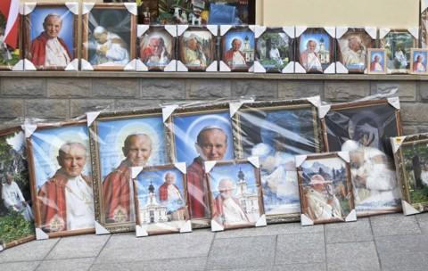Quadros do novo santo: papa João Paulo II | REUTERS/Agencja Gazeta/Michal Lepecki