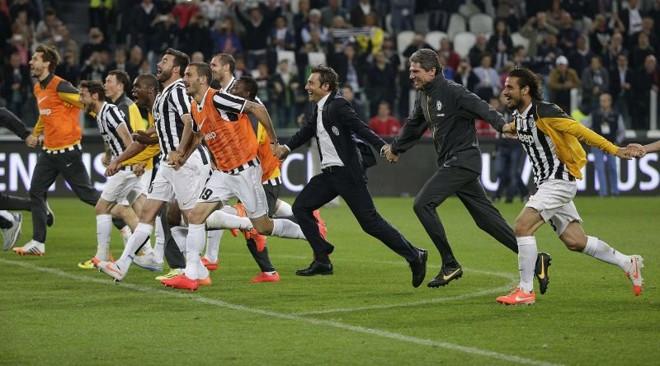 Juventus comemorou o título com vitória sobre a Atalanta | Reuters