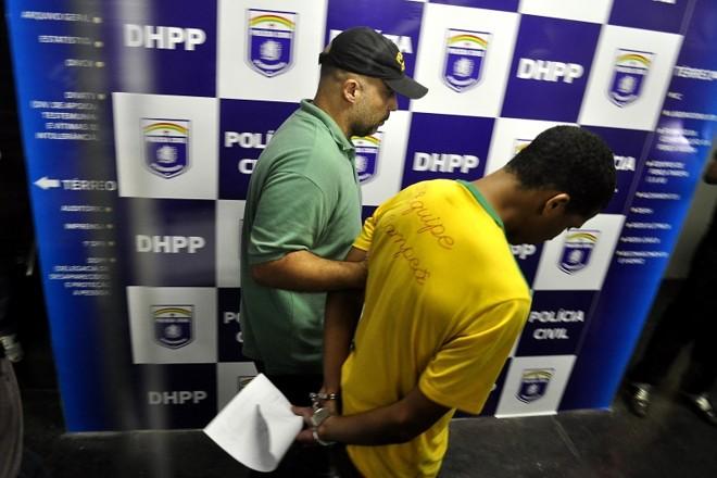 Everton Felipe Santiago Santana foi preso depois de denúncia pelo telefone | Anderson Stevens / Futura Press