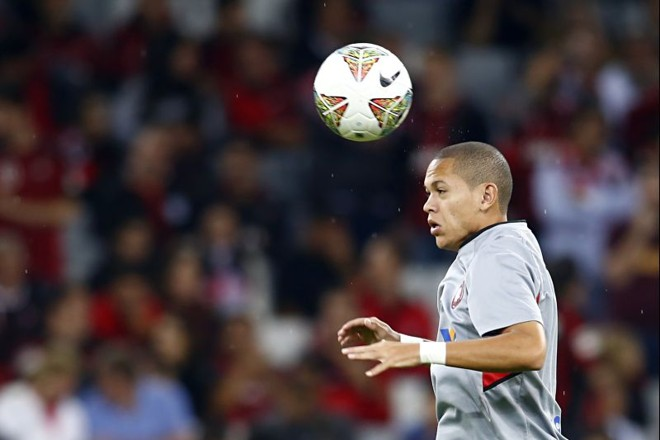 Marcos Guilherme continua no time titular do Atlético contra o Corinthians   Felipe Rosa / Tribuna