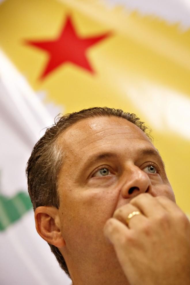 Eduardo Campos, pré-candidato do PSB à Presidência da República | Daniel Marenco/Folhapress
