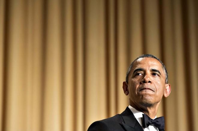 Obama recebeu com humor e ironia os jornalistas que cobrem a Casa Branca, em Washington | Joshua Roberts/Reuters