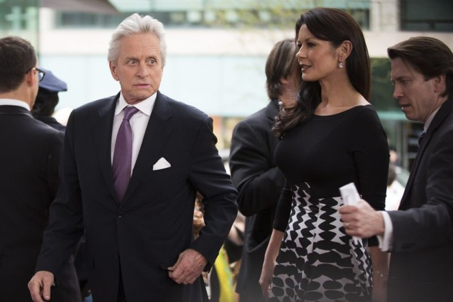 Michael Douglas e Catherine Zeta-Jones | REUTERS/Lucas Jackson