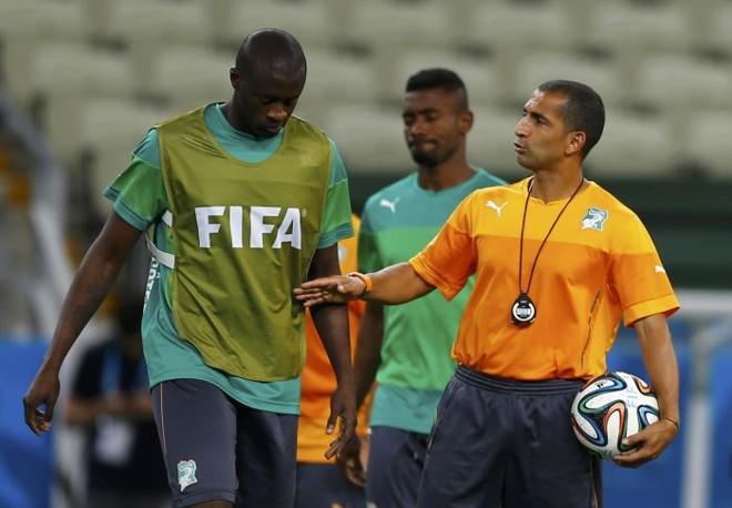 Yayá Touré perdeu o irmão caçula durante a disputa da Copa do Mundo | EFE