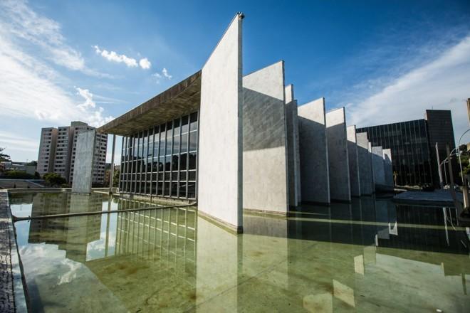Sede do Tribunal de Contas do Paraná, em Curitiba | Brunno Covello / Gazeta do Povo