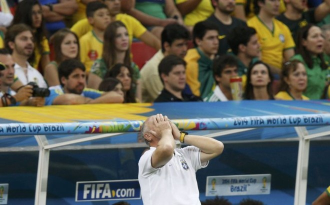 Na análise de Felipão, o que deve ser levado da Copa do Mundo é a posição final: o quarto lugar | Reuters