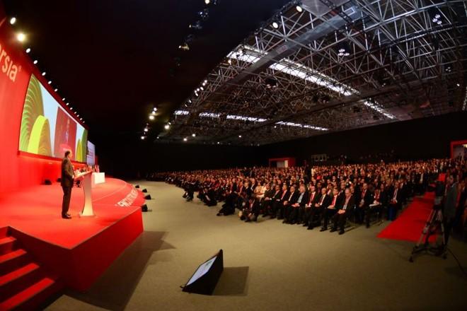 Estão reunidos no Rio de Janeiro 1.103 reitores de universidades sediadas em 33 países de todos os continentes | Della Rocca Imagens/Divulgação