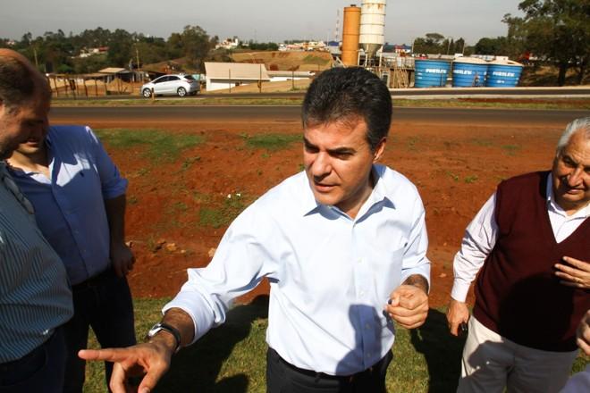 Richa afirmou que, por enquanto, vai conciliar os compromissos do governo com a campanha   Roberto Custódio/Jornal de Londrina