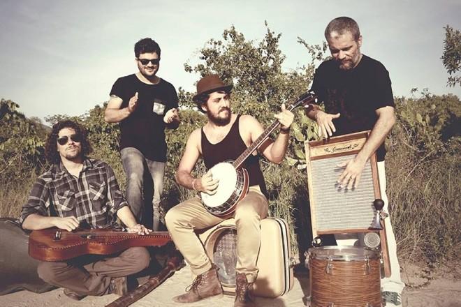 A banda Suricato se apresenta em Curitiba no fim de semana | Divulgação