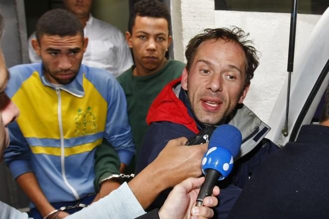 Rafael Ilha durante prisão de julho de 2008, quando passou 17 dias detido acusado de tentativa de sequestro, formação de quadrilha e usurpação de função pública   Almeida Rocha/Folhapress