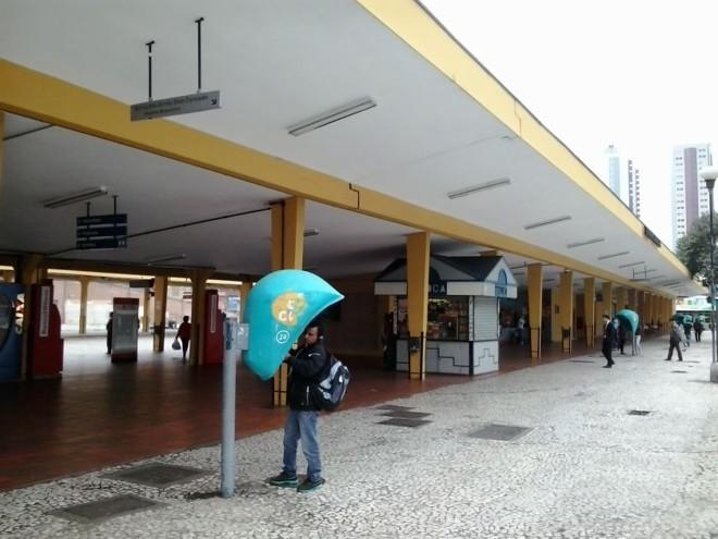 Terminal do Guadalupe: ponto de embarque e desembarque de linhas metropolitanas | Amanda Audi/Gazeta do Povo