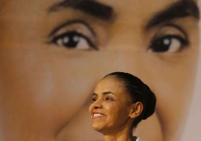 Marina Silva lançou ontem em São Paulo seu programa de governo | Paulo Whitaker / Reuters