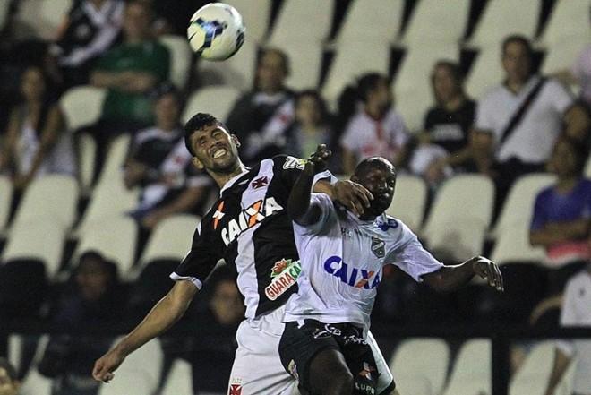Vasco só empatou com o ABC em São Januário   Marcelo Sadio / Divulgação Vasco