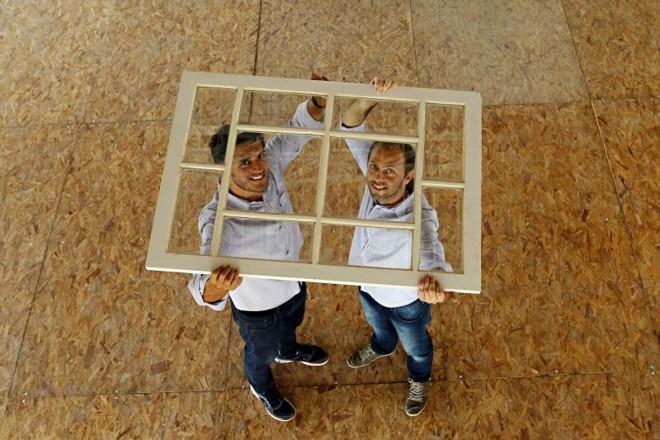 Guto de Lima e André Pegorer, da Nex Coworking | Albari Rosa/ Gazeta do Povo