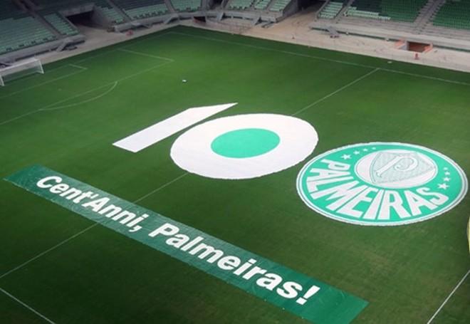 Novo estádio será o maior presente à torcida nos 100 anos do Palmeiras | Reprodução Facebook Allianz Parque