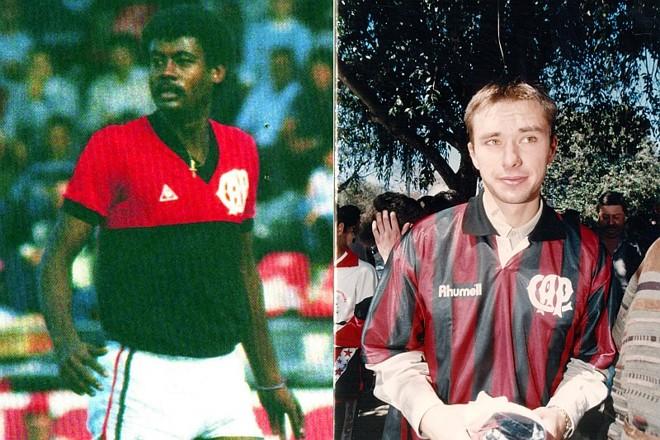 Washington e Nowak, ambos ídolos no Atlético, foram vítimas de uma mesma doença degenerativa, a Esclerose Lateral Amiotrófica (ELA)   Arquivo / Gazeta do Povo