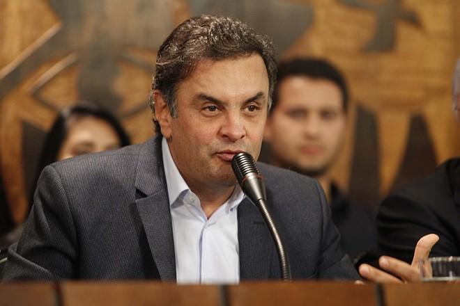 O candidato à presidência pelo PSDB Aécio Neves | Hugo Harada/ Agência de Notícias Gazeta do Povo