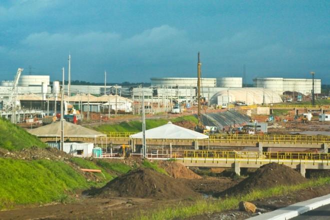 A refinaria de Abreu e Lima receberia R$124,9 milhões para a inauguração da segunda fase, em 2015 | Divulgação/ Petrobras
