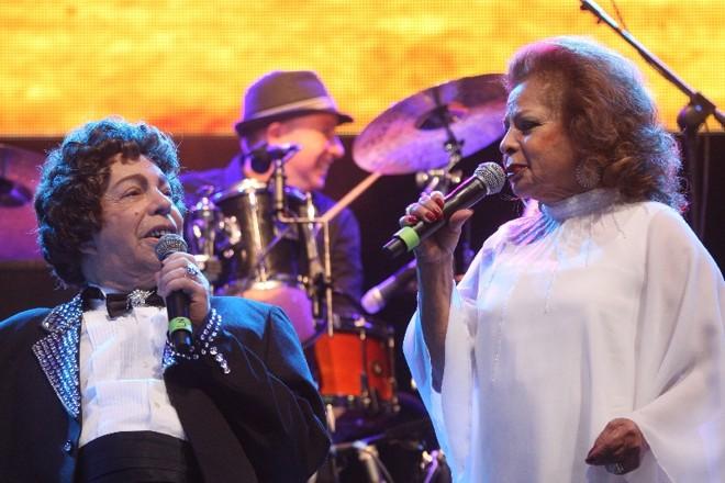Os cantores voltaram a se reunir em estúdio depois de dez anos   Marcos Borges/Gazeta do Povo