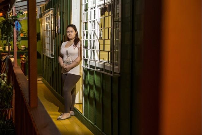 Luana Lopes sofreu violência obstétrica e está processando a maternidade | Marcelo Andrade/Gazeta do Povo