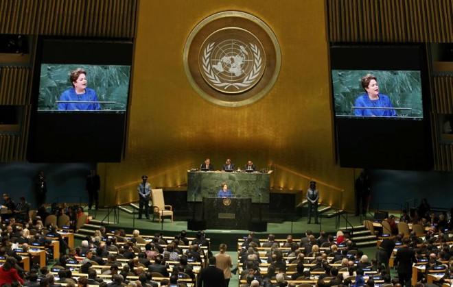 Dilma foi orientada pelo comitê de campanha a aproveitar os holofotes das Nações Unidas  
