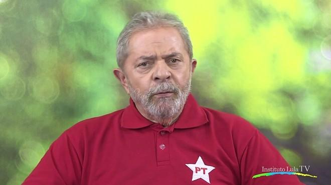 Imagem do vídeo divulgado pelo Instituto Lula no Facebook | Reprodução / Internet