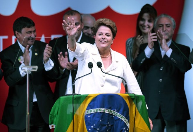 Após a reeleição, Dilma discursa em Brasília | REUTERS/Ueslei Marcelino