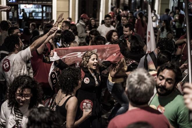 Reeleição de Dilma foi em uma disputa acirradíssima com Aécio Neves, candidato do PSDB |