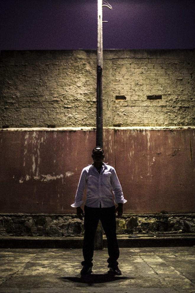 Trabalhador haitiano diz lamentar mais o preconceito do que a dor física | Brunno Covello/Gazeta do Povo