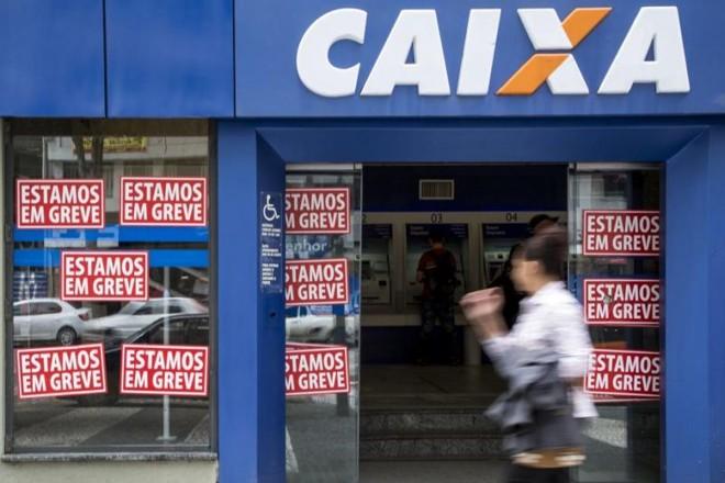 As agências da Caixa Econômica e do Banco do Brasil estão todas sem atendimento presencial na Região Metropolitana de Curitiba | Henry Milleo / Agência de Notícias Gazeta do Povo