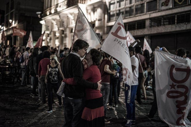 Também rolou um clima de romance | Henry Milleo/Agência de Notícias Gazeta do Povo
