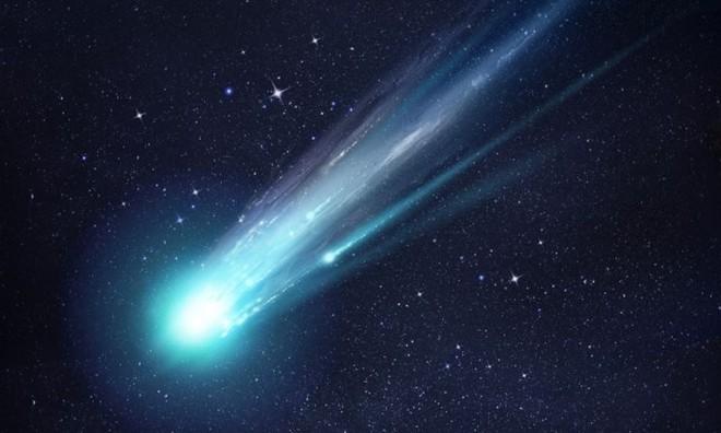 Cometa Halley passa pelo Sistema Solar e causa uma chuva de meteoros desencadeada por seu rastro de poeira | Divulgação/Grupo Marista