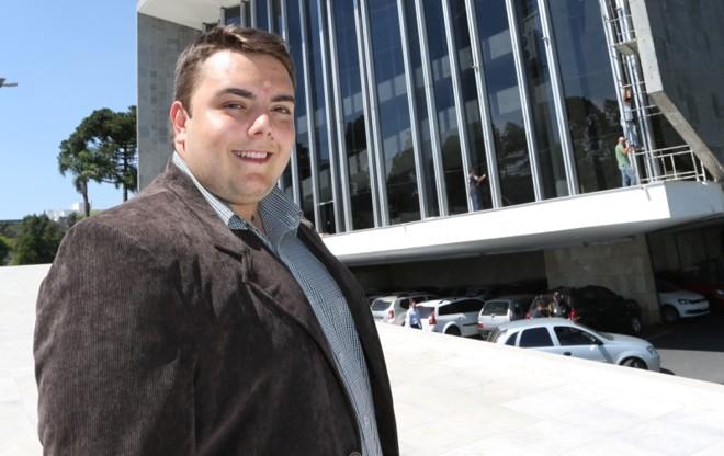 Felipe Francischini, deputado estadual eleitopelo Solidariedade |