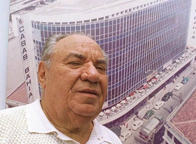 Samuel Klein, em foto de 1997: polonês naturalizado brasileiro, empresário nasceu em Lublin, na Polônia | Janete Longo/Folhapress