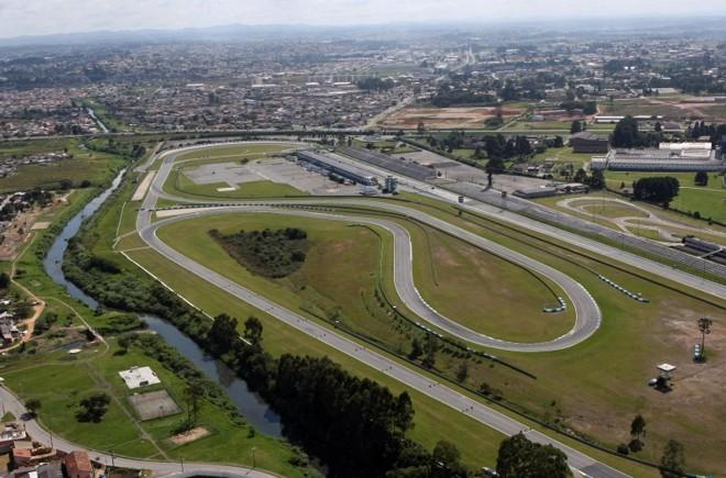 Vista aérea do Autódromo Internacional de Curitiba, em Pinhais: estado tenta retomar o protagonismo no automobilismo nacional, recuperando o status de grande revelador de talentos | Albari Rosa/Gazeta do Povo