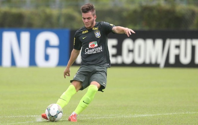 Nathan treina com a seleção sub-20 em Teresópolis: Petraglia tenta barrar negociação do jogador | Rafael Ribeiro / CBF