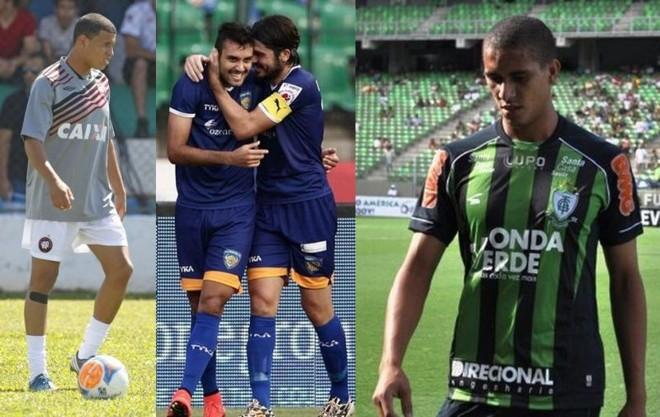Sidcley, Pelissari e Lula estarão no time sub-23 do Atlético no Paranaense 2015  