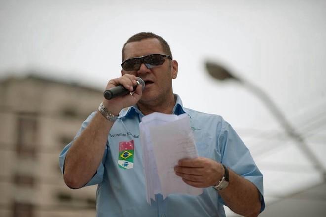 Tchello Caramori ocupou cargo no governo do Paraná e sempre fez questão de parecer próximo do poder | Reprodução/Facebook