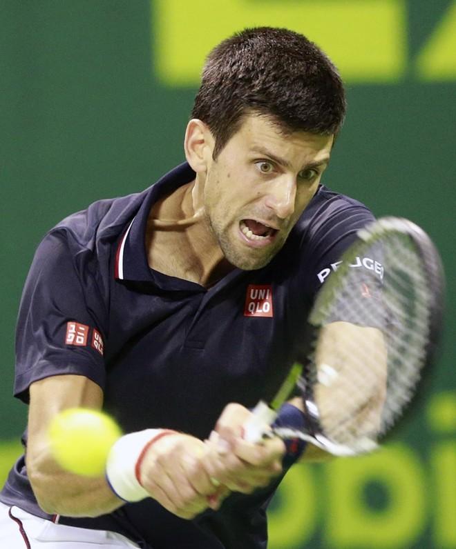 Djokovic: vitória tranquila   Mohammed Dabbous/Reuters