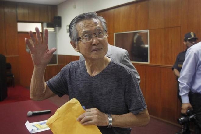 O ex-presidente peruano Alberto Fujimori foi condenado a 8 anos por desviar verba para jornais sensacionalistas | Enrique castro-Mendivil / Reuters