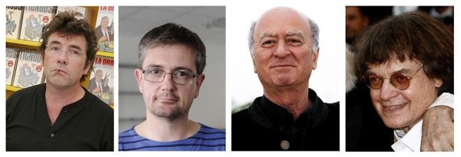 Stéphane Charbonnier (à esquerda) é um dos mortos no atentado   EFE