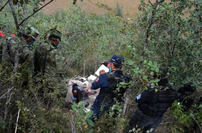 Corpos e cabeças foram achados em bolsas plásticas | Stringer/Efe