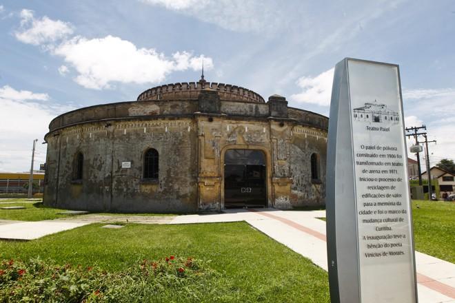 O Teatro do Paiol é um dos palcos disponíveis. | Daniel Castellano/Gazeta do Povo